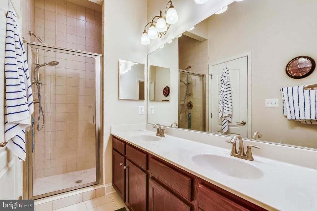 Main Level Master Bathroom - 20173 GLEEDSVILLE RD, LEESBURG