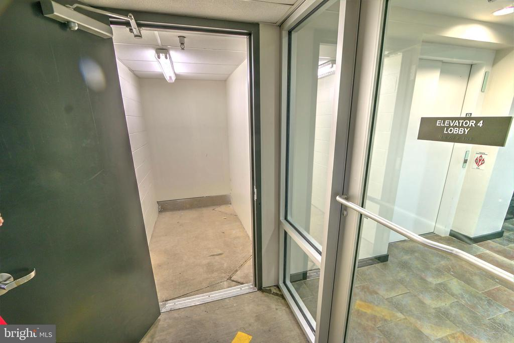 Inside of large private storage room - 1610 N QUEEN ST #243, ARLINGTON