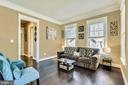 Formal living room for greeting your guests - 41984 PADDOCK GATE PL, ASHBURN
