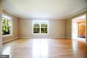 Spacious Living Room - 11107 BRADDOCK RD, FAIRFAX