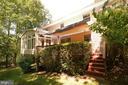 Rear of House - 11107 BRADDOCK RD, FAIRFAX
