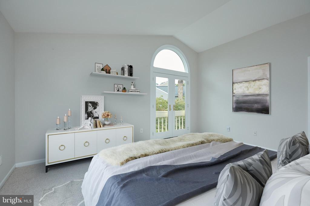 Virtually Staged Second Bedroom - 11117 WATERMANS DR, RESTON