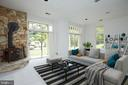 Virtually Staged Lower Level Recreation Room - 11117 WATERMANS DR, RESTON