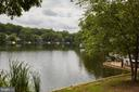 View of Lake Audubon from Walking Path - 11117 WATERMANS DR, RESTON