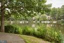 Scenic View of Lake Audubon from Walking Path - 11117 WATERMANS DR, RESTON