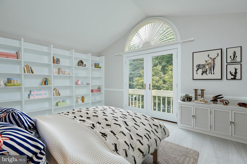Virtually Staged Third Bedroom - 11117 WATERMANS DR, RESTON