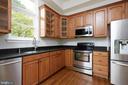 Gourmet Kitchen with Newer French Door Refrigerato - 11117 WATERMANS DR, RESTON