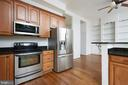 Light and Bright Kitchen with Access to Rear Deck - 11117 WATERMANS DR, RESTON