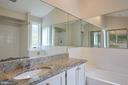 Master Bath with Separate Shower & Tub - 11117 WATERMANS DR, RESTON