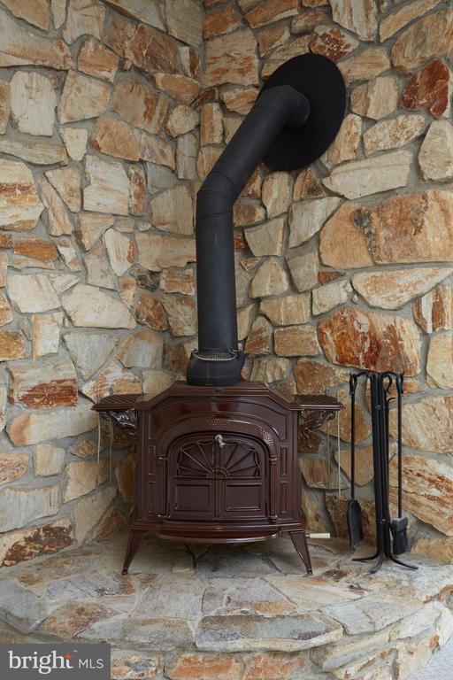 Lower Level Wood Pellet Burning Stove - 11117 WATERMANS DR, RESTON