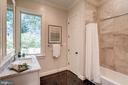 Main Guest Suite Bathroom - 120 KINGSLEY RD SW, VIENNA