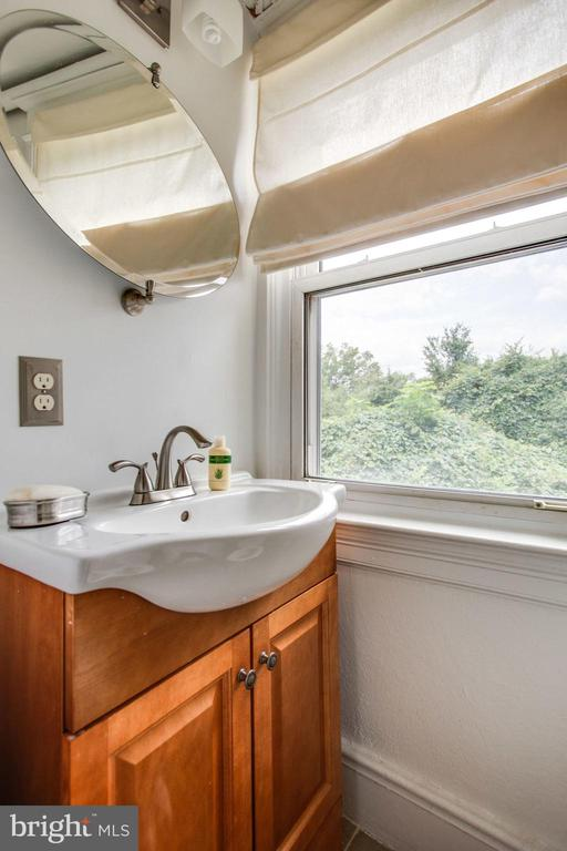 Half bath, with room to expand to full - 2229 QUINCY ST NE, WASHINGTON