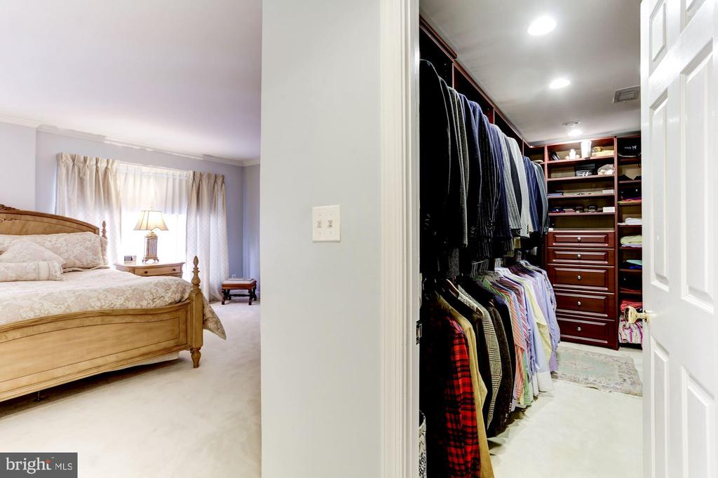 Second walk-in closet in Master - 1080 WISCONSIN AVE NW #103/104, WASHINGTON