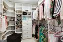 One of two walk-in closets in Master - 1080 WISCONSIN AVE NW #103/104, WASHINGTON