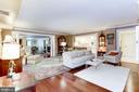 Family Room off Kitchen - 1080 WISCONSIN AVE NW #103/104, WASHINGTON