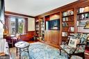 Second Bedroom, hidden TV on hydraulic lift - 1080 WISCONSIN AVE NW #103/104, WASHINGTON