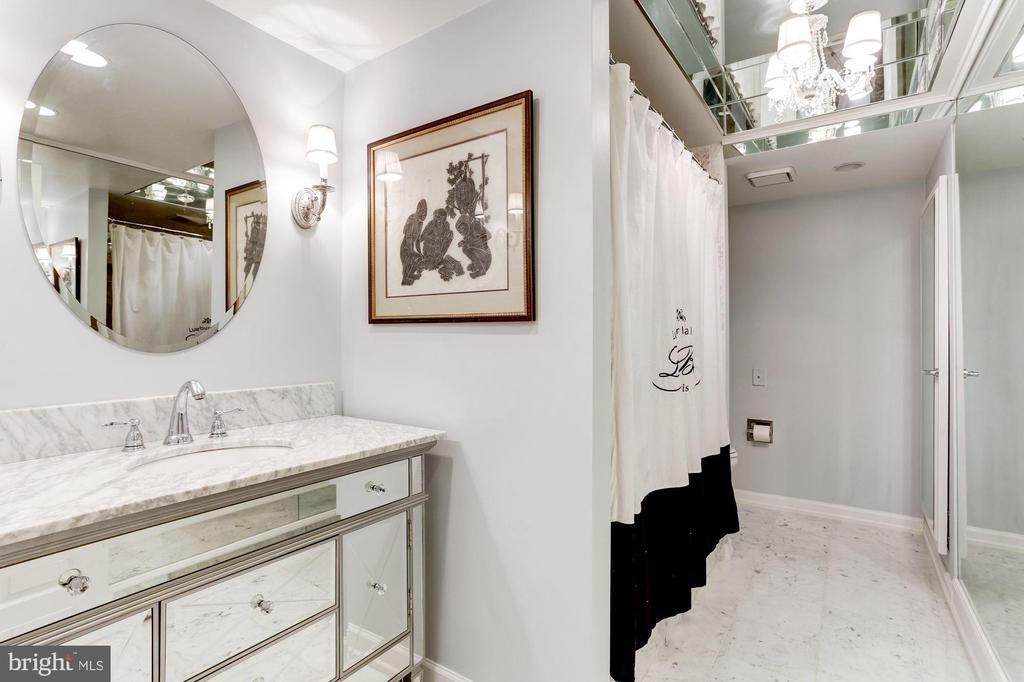 One of two en=suite Baths in Master - 1080 WISCONSIN AVE NW #103/104, WASHINGTON