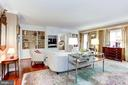Family Room with built-ins - 1080 WISCONSIN AVE NW #103/104, WASHINGTON