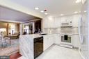Kitchen off Family Room - 1080 WISCONSIN AVE NW #103/104, WASHINGTON