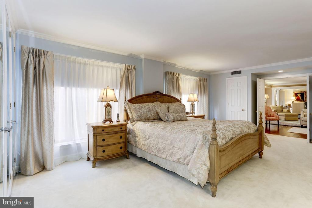 Master just off the Family Room - 1080 WISCONSIN AVE NW #103/104, WASHINGTON