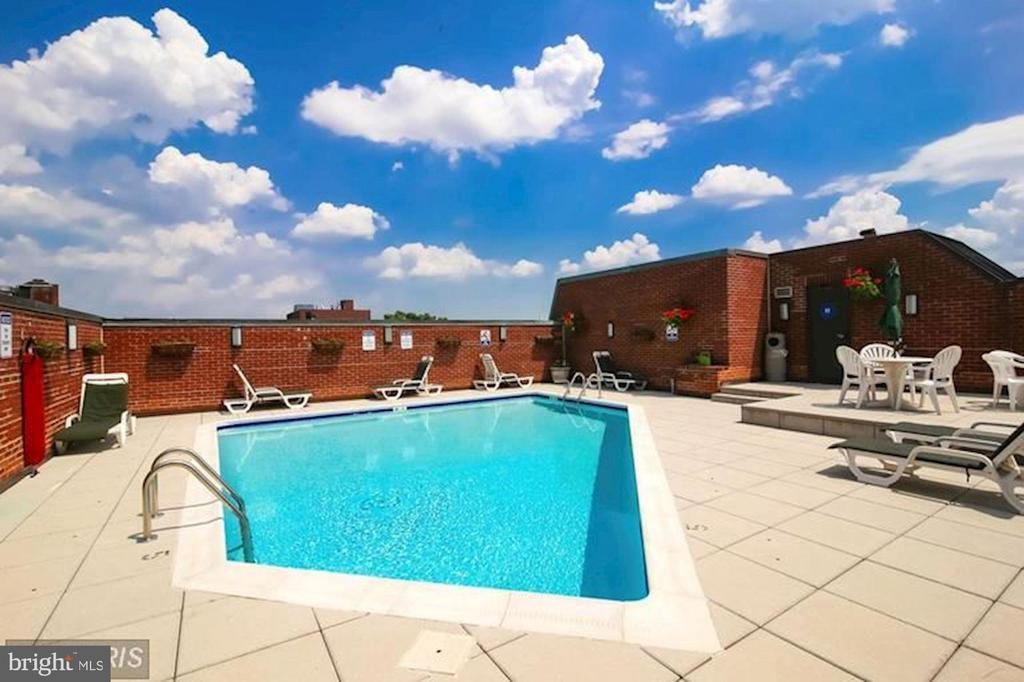 Georgetown Park pool, and sundeck - 1080 WISCONSIN AVE NW #103/104, WASHINGTON
