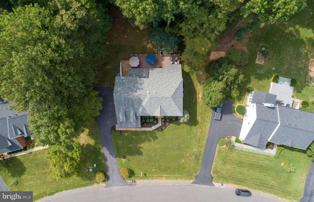 Check out the 48 ft wide Trex deck! - 13909 BALMORAL TER, CLIFTON