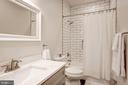 Second level full bath - 1347 CONSTITUTION AVE NE, WASHINGTON