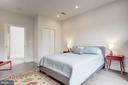 Private third level master bedroom - 1347 CONSTITUTION AVE NE, WASHINGTON
