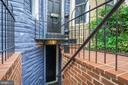 Basement exterior entrance - 1347 CONSTITUTION AVE NE, WASHINGTON