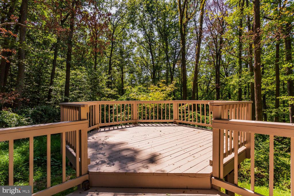 Deck - 8518 OLD DOMINION DR, MCLEAN