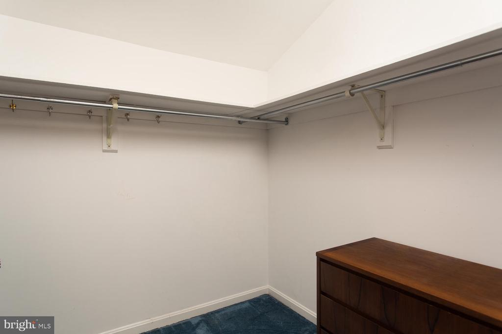 2nd Owner's Suite Closet - 8518 OLD DOMINION DR, MCLEAN