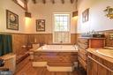 Master Bath offers shower and Soaking Tub - 4142 GUARD HILL RD, FRONT ROYAL