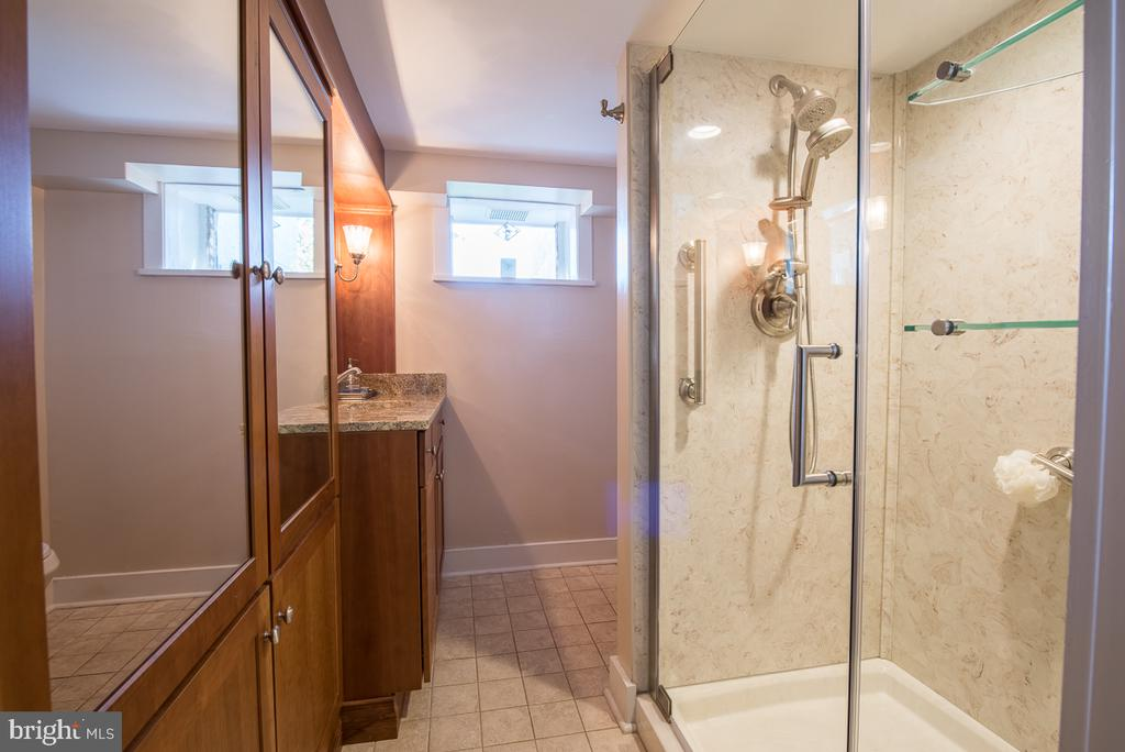 Update Full Bath in the English Basement - 4142 GUARD HILL RD, FRONT ROYAL
