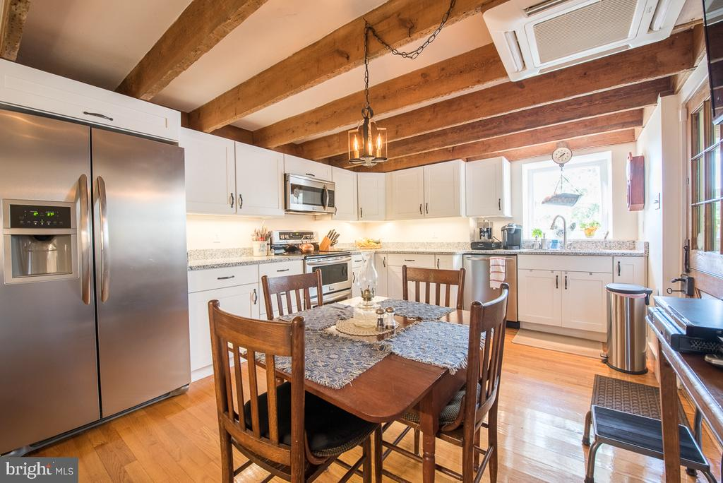 Remodeled Kitchen in the English Basement - 4142 GUARD HILL RD, FRONT ROYAL