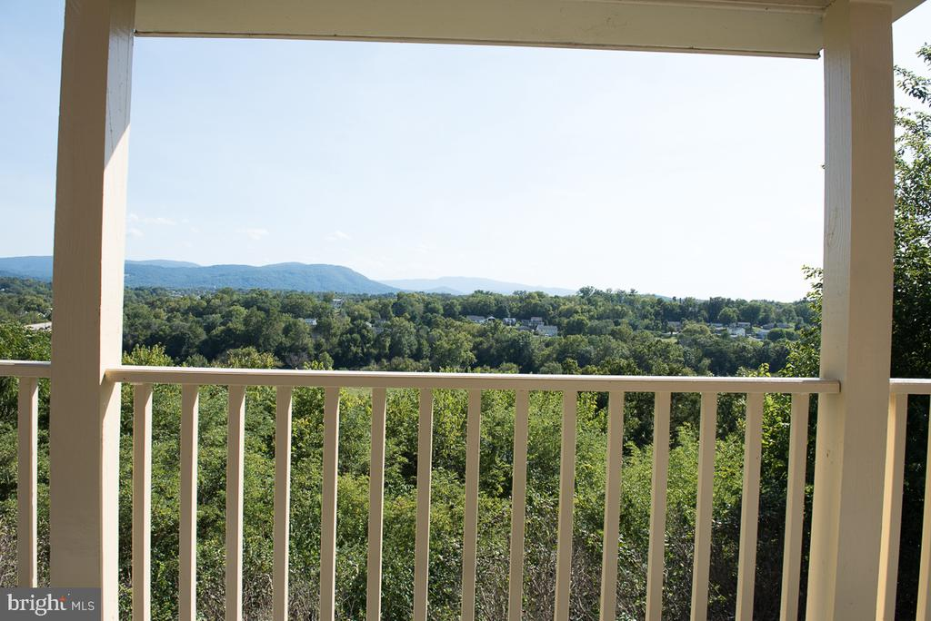 3rd Floor Balcony off the Master Bedroom - 4142 GUARD HILL RD, FRONT ROYAL