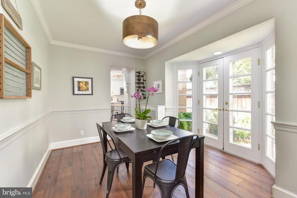 Formal dining room - 214 WOLFE ST, ALEXANDRIA
