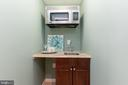 Wet Bar located in Suite - 6014 GROVE DR, ALEXANDRIA
