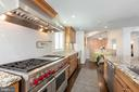 Wolf Six Burner Gas Stove and Hood with Grill - 6014 GROVE DR, ALEXANDRIA
