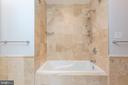 Soaking Tub/ Shower - 6014 GROVE DR, ALEXANDRIA