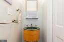 Lower Level Powder Room - 6014 GROVE DR, ALEXANDRIA