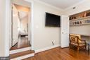 Door to Great Room - 6014 GROVE DR, ALEXANDRIA