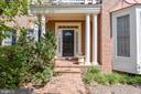 Brick walk-way & steps to the front door - 7428 SPRING SUMMIT RD, SPRINGFIELD