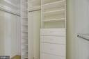 Check out these 'california closet' organizers - 7428 SPRING SUMMIT RD, SPRINGFIELD