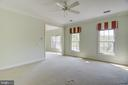 Plenty of room in this master suite - 7428 SPRING SUMMIT RD, SPRINGFIELD