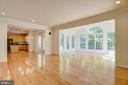 Recessed lighting in the family room - 7428 SPRING SUMMIT RD, SPRINGFIELD