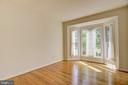 Main floor den/office/music room off the foyer - 7428 SPRING SUMMIT RD, SPRINGFIELD