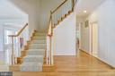 Greet your guests & family in this spacious foyer - 7428 SPRING SUMMIT RD, SPRINGFIELD
