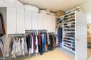 Huge walk-in closet - 1313 CORCORAN ST NW, WASHINGTON