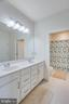 Second Bathroom with Separate Shower Area - 23384 NANTUCKET FOG TER, BRAMBLETON