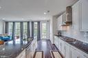 Kitchen with Oversized Island - 23384 NANTUCKET FOG TER, BRAMBLETON